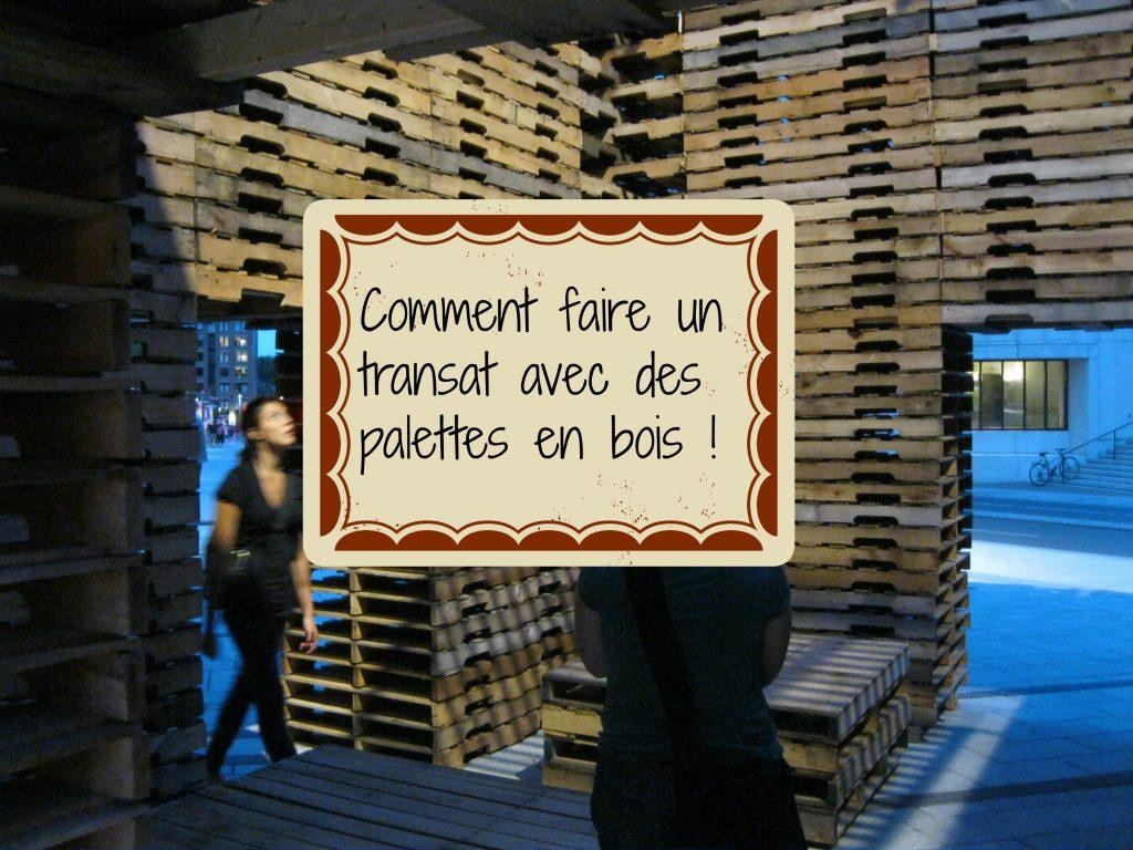 Que faire avec des palettes de bois cartonrecup - Que peut on faire avec des palettes en bois ...