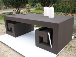 La fabrication de meuble en carton par mariekrtonne - Fabriquer une table basse design ...