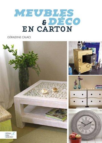10 livres pour faire des meubles en carton cartonrecup - Patron meuble en carton gratuit ...