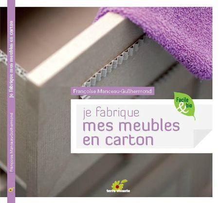 10 livres pour faire des meubles en carton cartonrecup - Meuble pour livre ...