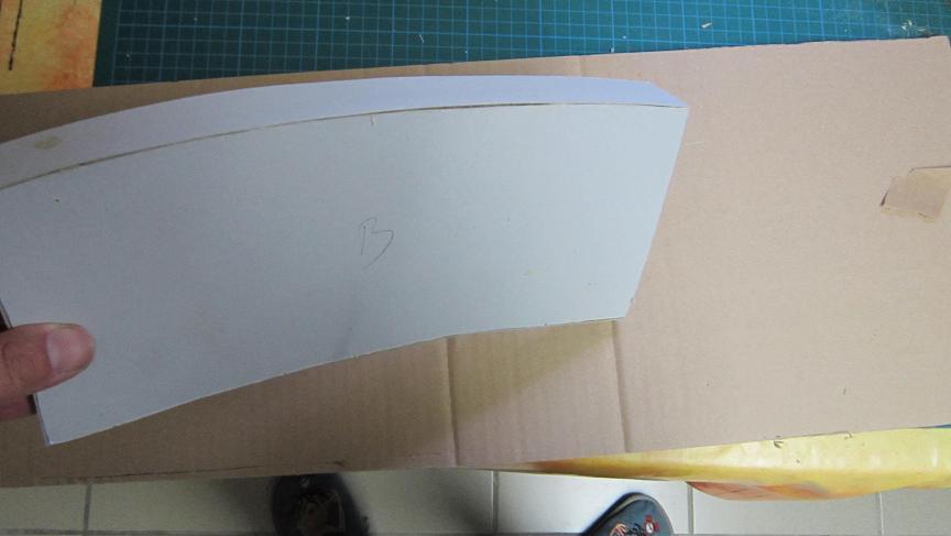 Meuble en carton courbe tutoriel en images cartonrecup for Finition meuble en carton