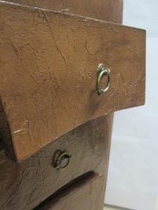 Detail des tiroirs