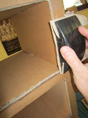 la finition des meubles en cartonrecup