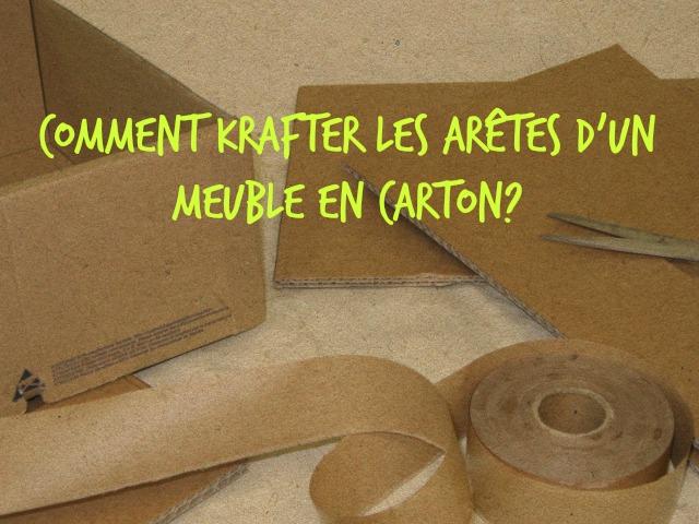 Meubles en carton archives cartonrecup - Comment arreter une saisie de meuble ...