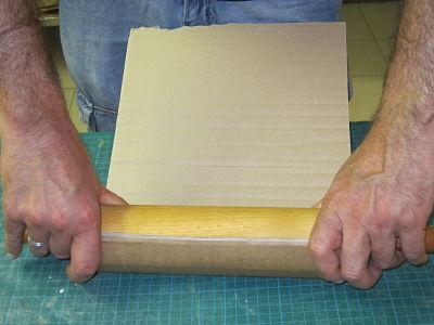 Arrondir un carton