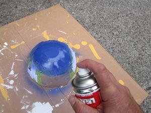 Mise en peinture