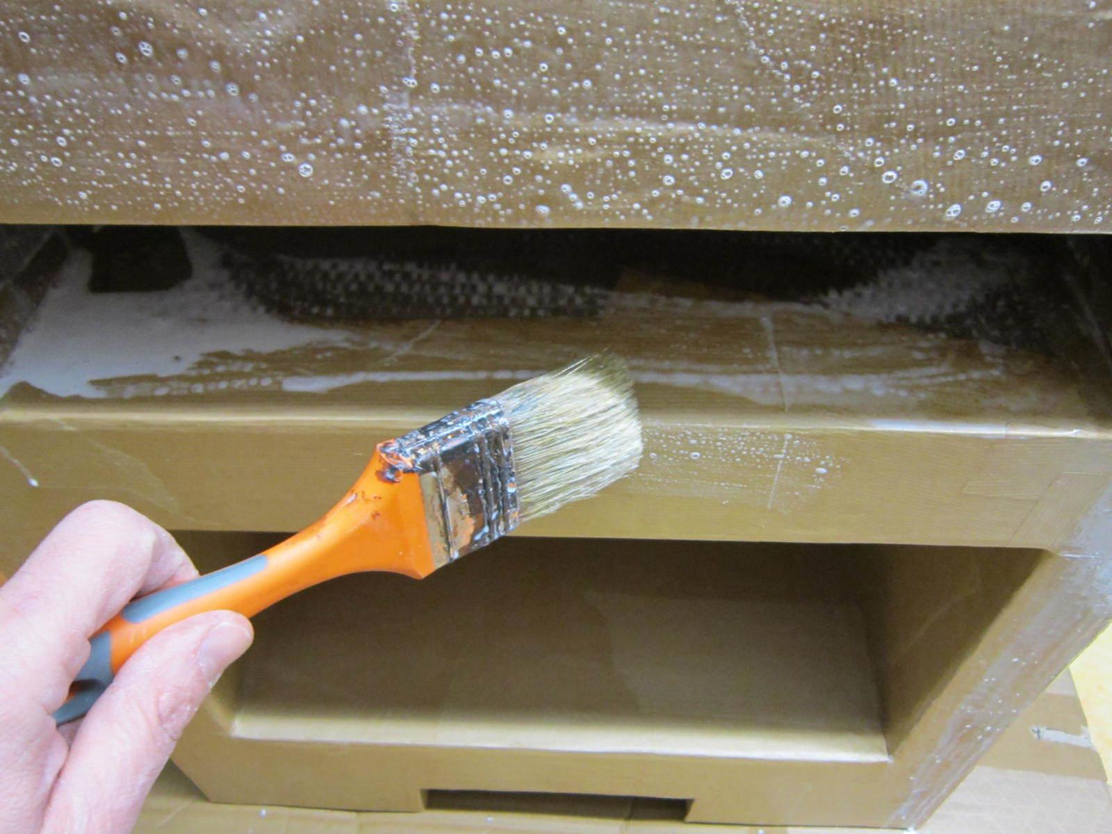 Tutoriel meuble en carton cartonrecup for Fabriquer une treille en bois