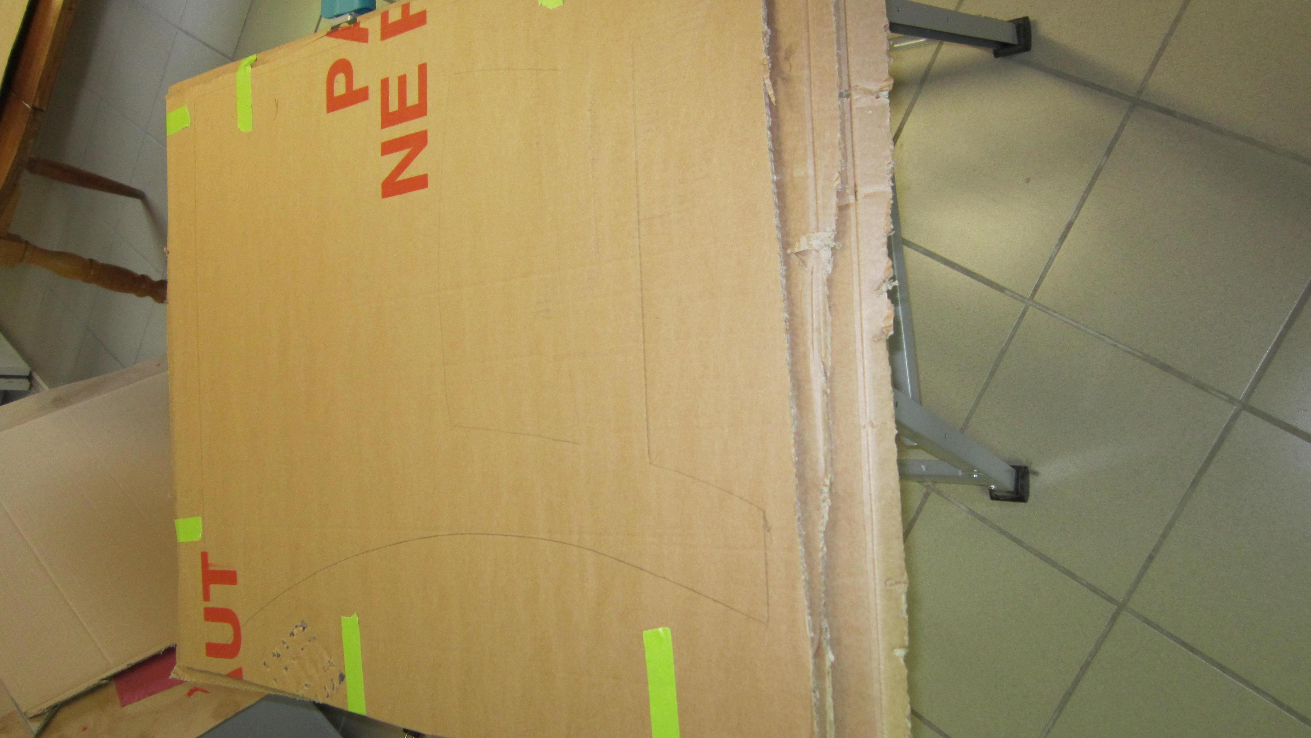 comment r aliser votre premier meuble en carton cartonrecup. Black Bedroom Furniture Sets. Home Design Ideas