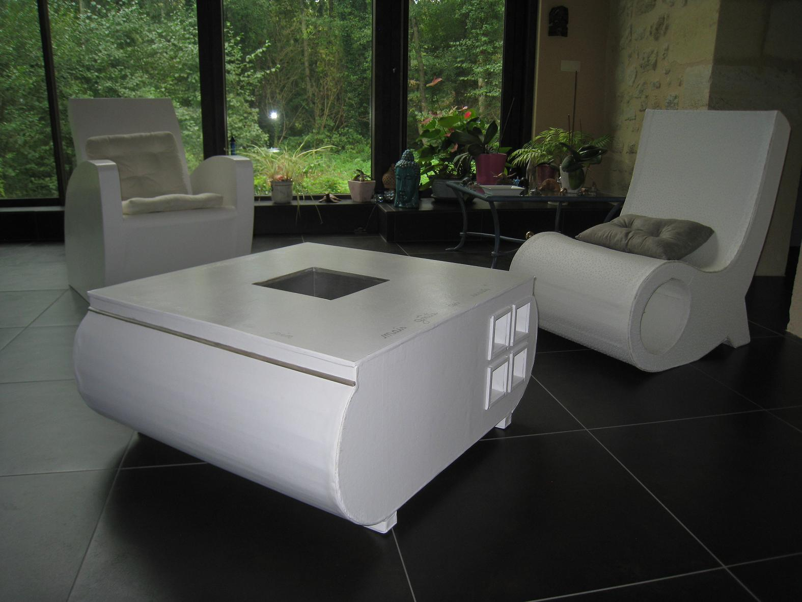 Comment cr er son mobilier en carton cartonrecup - Creer son meuble ...