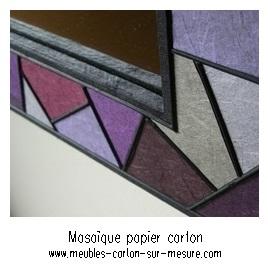 mozaique de papier
