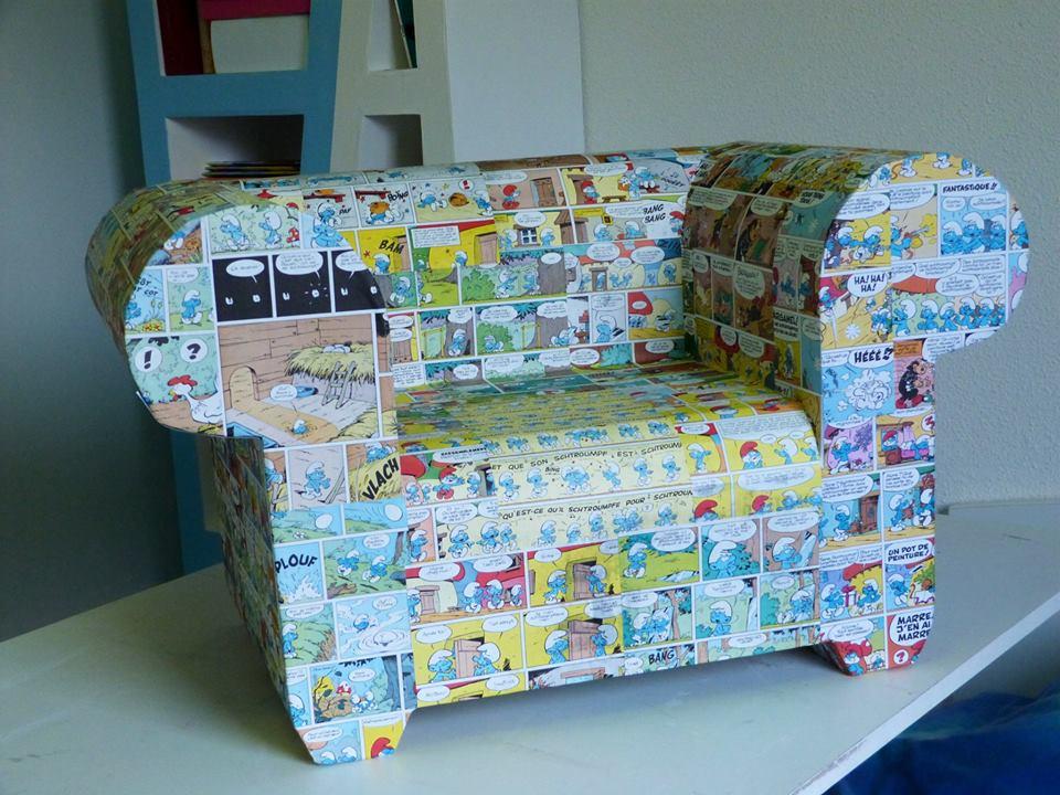 Un fauteuil pour enfant