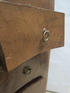Detail meuble en carton