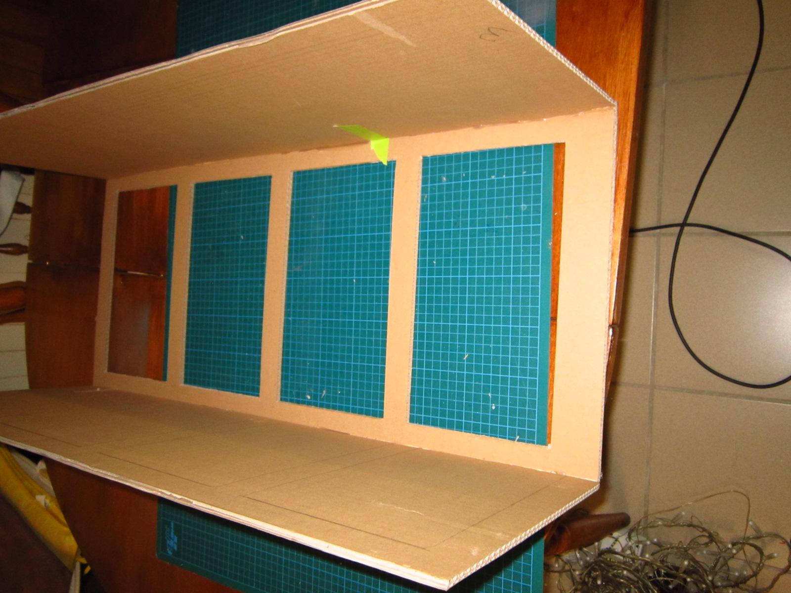 Meubles en carton en boitage cartonrecup for Finition meuble en carton
