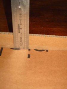mesure hauteur des traverses