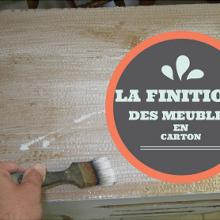 Meubles en carton archives cartonrecup for Finition meuble en carton