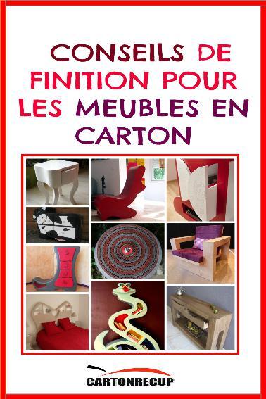 10 Conseils De Finition Pour Les Meubles En Carton Cartonrecup