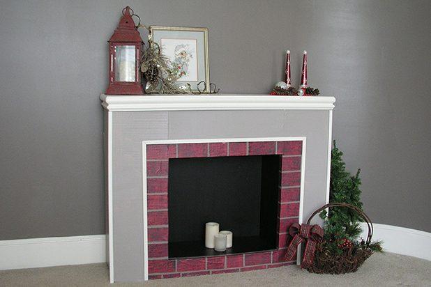 10 id es de d coration de noel r aliser avec les enfants - Acheter une cheminee en carton ...