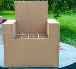 Fabriquer Des Fauteuils Avec Du Carton Cartonrecup