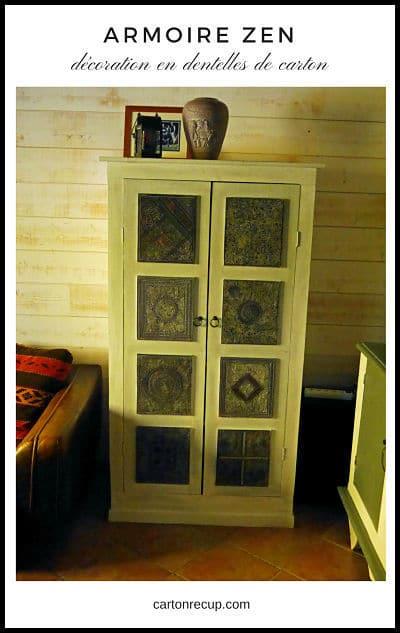 fabriquer une armoire en bois et carton une armoire en. Black Bedroom Furniture Sets. Home Design Ideas