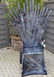 fauteuil game of thrones en carton