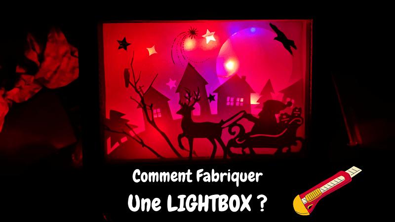 lightbox éclairée